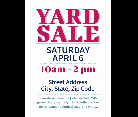 Yard Sale Flyer Template Awesome Download This Yard Sale Flyer Template and Other Free