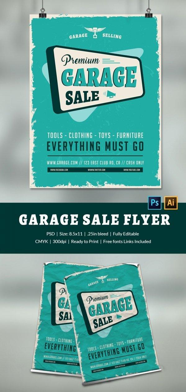 Yard Sale Flyer Template Best Of 14 Best Yard Sale Flyer Templates & Psd Designs