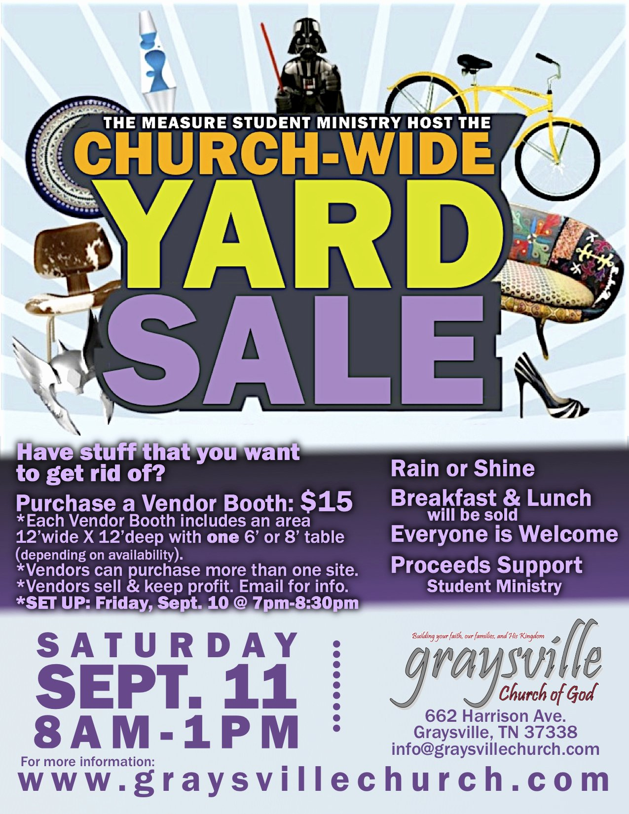 Yard Sale Flyer Template Best Of Church Wide Yard Sale