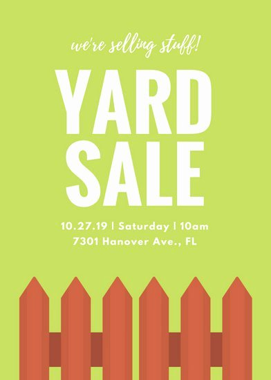 Yard Sale Flyer Template Elegant Customize 324 Sale Flyer Templates Online Canva