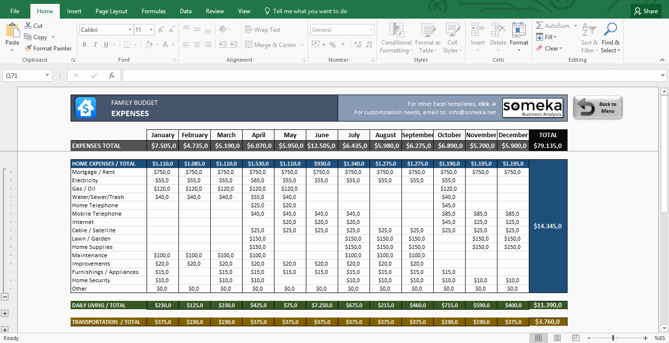 Yearly Budget Template Excel Free Inspirational Family Bud Excel Bud Template for Household