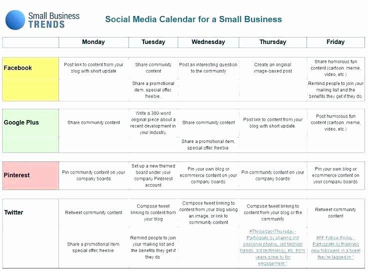 Yearly Marketing Plan Template Beautiful Monthly Marketing Calendar Template 8 Sample Calendars