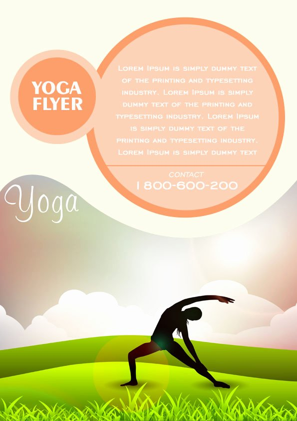 Yoga Flyers Free Template Awesome 20 Distinctive Yoga Flyer Templates Free for Professionals