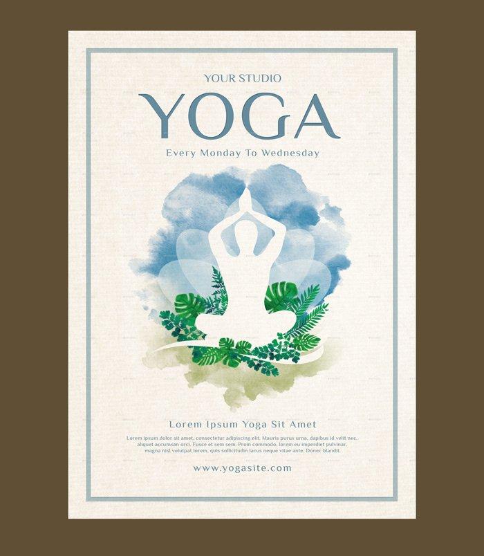 Yoga Flyers Free Template Awesome 23 Yoga Flyer Psd Templates Free & Premium Designyep