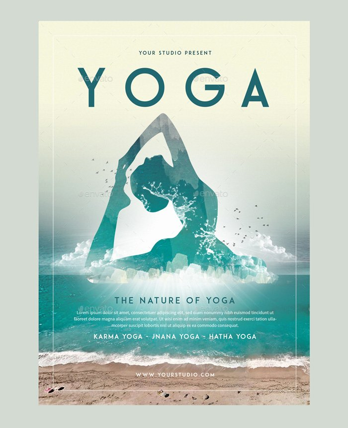 Yoga Flyers Free Template Elegant 23 Yoga Flyer Psd Templates Free & Premium Designyep