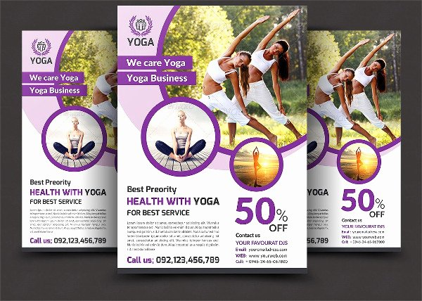 Yoga Flyers Free Template Elegant 29 Latest Yoga Flyer Templates Free & Premium Download