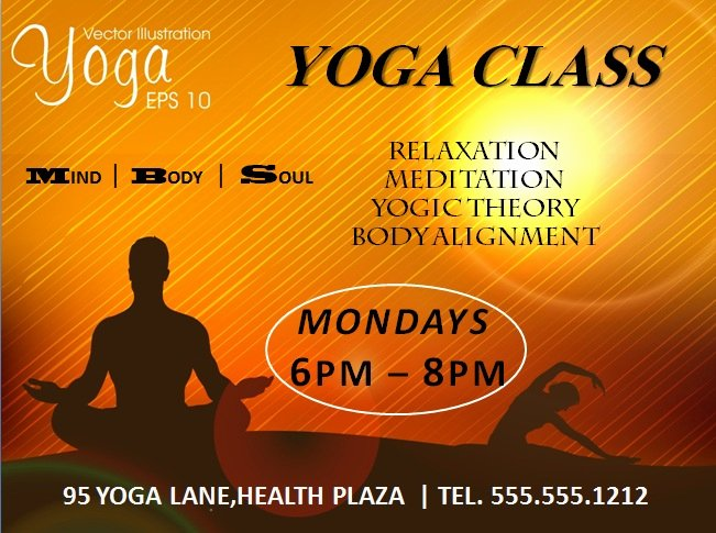 Yoga Flyers Free Template Fresh 20 Distinctive Yoga Flyer Templates Free for Professionals
