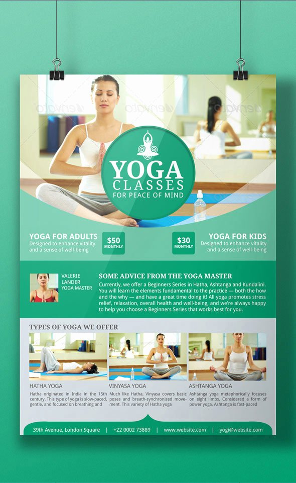 Yoga Flyers Free Template Fresh Yoga Flyer Templates Marketing Ideas for Your Yoga