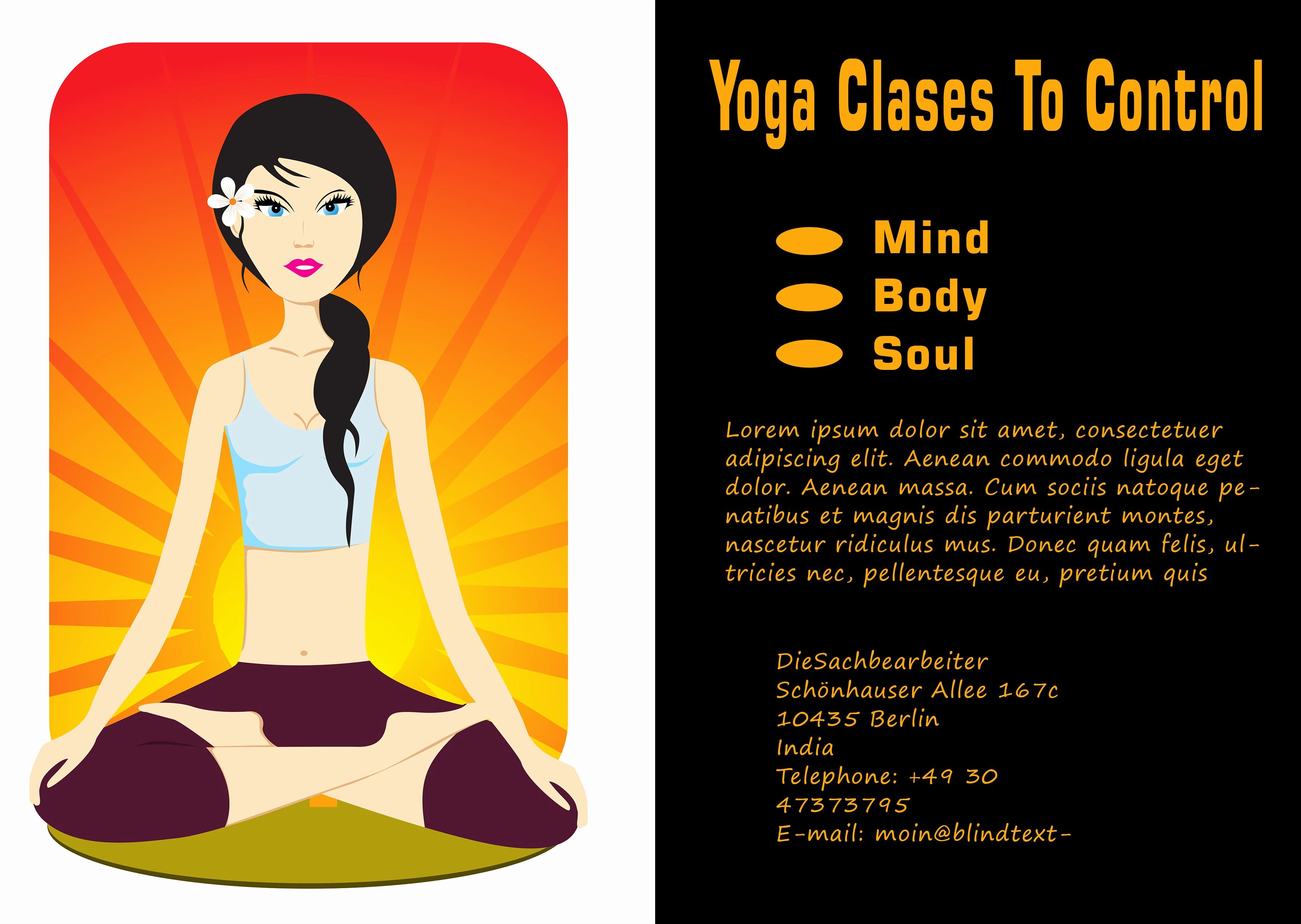 Yoga Flyers Free Template Inspirational 20 Distinctive Yoga Flyer Templates Free for Professionals