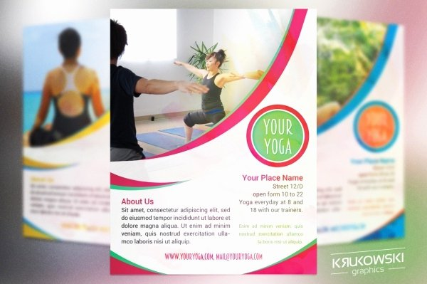 Yoga Flyers Free Template Lovely 35 Fitness Flyer Templates Psd Vector Eps Jpg