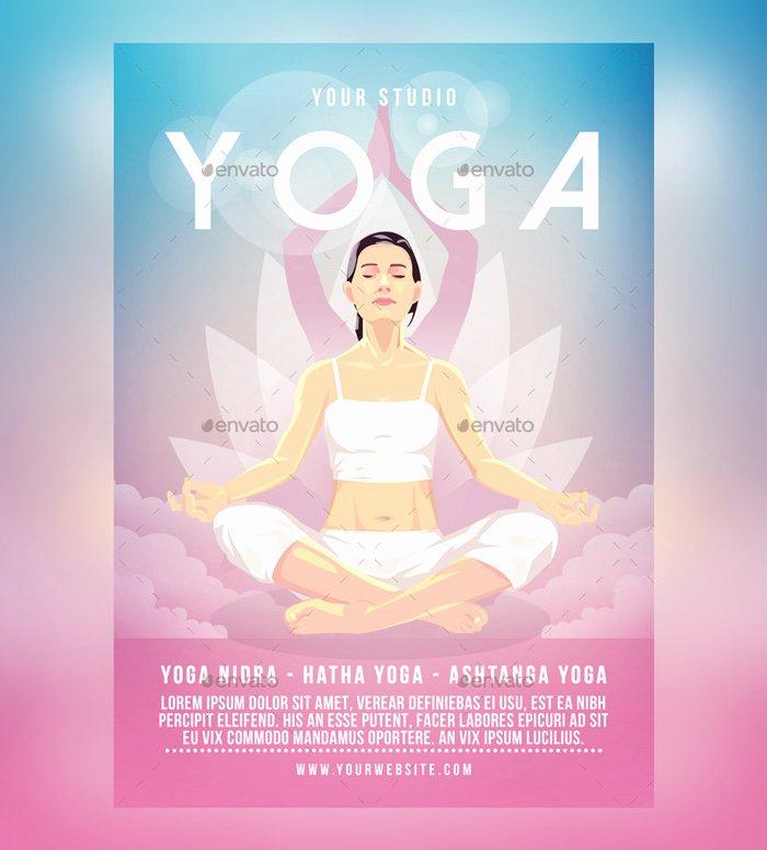 Yoga Flyers Free Template Unique 23 Yoga Flyer Psd Templates Free & Premium Designyep