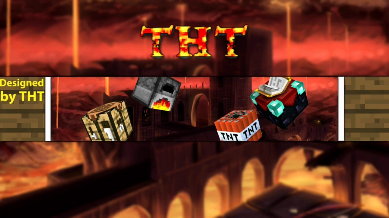 Youtube Banner Template No Text Best Of [free] Minecraft Epic Youtube Banner Template No Text